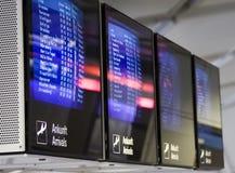 Tarjeta del aeropuerto Imagen de archivo
