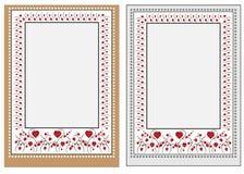 Tarjeta del amor ilustración del vector