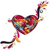 Tarjeta del amor stock de ilustración