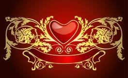 Tarjeta del amor Imágenes de archivo libres de regalías