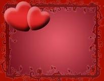 Tarjeta del amor de la tarjeta del día de San Valentín (04) ilustración del vector