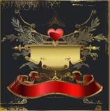 Tarjeta del amor. El día de tarjeta del día de San Valentín Foto de archivo libre de regalías