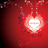 Tarjeta del amor. Vector. Fotos de archivo