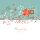 Tarjeta del Año Nuevo Fotografía de archivo libre de regalías