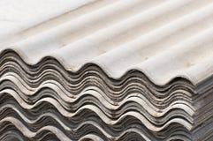 Tarjeta del asbesto Fotos de archivo libres de regalías