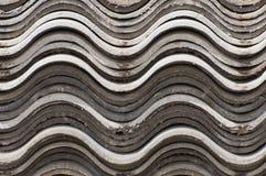 Tarjeta del asbesto Fotografía de archivo