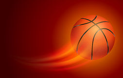 Tarjeta del baloncesto libre illustration