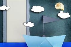 Tarjeta del bebé Imagen de archivo libre de regalías