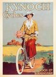 Tarjeta del cartel del vintage stock de ilustración