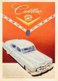 Tarjeta del cartel del vintage de los E.E.U.U. fotografía de archivo