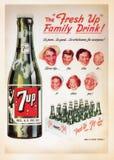 Tarjeta del cartel del vintage de los E.E.U.U. imágenes de archivo libres de regalías