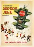 Tarjeta del cartel del vintage de los E.E.U.U. fotos de archivo libres de regalías