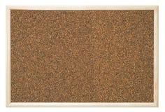 Tarjeta del corcho Foto de archivo libre de regalías