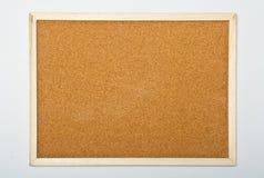 Tarjeta del corcho Fotografía de archivo libre de regalías