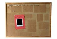 Tarjeta del corcho - #2 aislado Imágenes de archivo libres de regalías