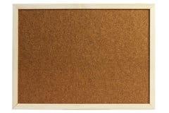 Tarjeta del corcho Fotos de archivo libres de regalías