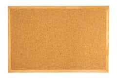 Tarjeta del corcho aislada Fotografía de archivo libre de regalías