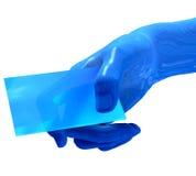 tarjeta del Cyber de 3D Digitaces Imagen de archivo libre de regalías
