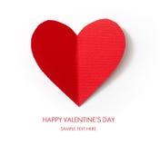 Tarjeta del día de fiesta. Día de tarjetas del día de San Valentín Imagen de archivo libre de regalías
