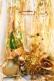 Tarjeta del día de fiesta de la Feliz Año Nuevo Foto de archivo