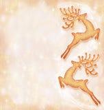 Tarjeta del día de fiesta de la Navidad, fondo festivo Fotografía de archivo libre de regalías