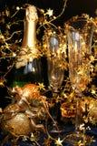 Tarjeta del día de fiesta del Año Nuevo Fotografía de archivo
