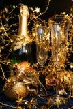 Tarjeta del día de fiesta del Año Nuevo Fotos de archivo