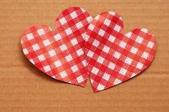 Tarjeta del día de fiesta para el día de tarjetas del día de San Valentín Imagen de archivo