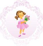 Tarjeta del día de madre Imagenes de archivo