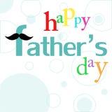 Tarjeta del día de padre Fotografía de archivo libre de regalías