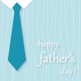 tarjeta del día de padre Fotos de archivo