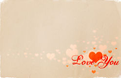 Tarjeta del día de San Valentín 01 ilustración del vector