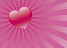 Tarjeta del día de San Valentín 04 Imagenes de archivo