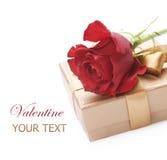 Tarjeta del día de San Valentín Imagen de archivo