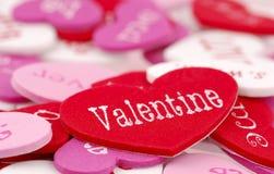 Tarjeta del día de San Valentín Fotos de archivo libres de regalías
