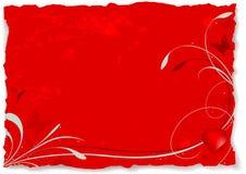 Tarjeta del día de San Valentín abstracta A fotos de archivo libres de regalías