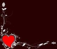 Tarjeta del día de San Valentín-día Foto de archivo