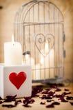 Tarjeta del día de San Valentín, día Foto de archivo libre de regalías