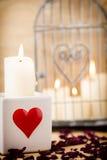 Tarjeta del día de San Valentín, día Imagenes de archivo