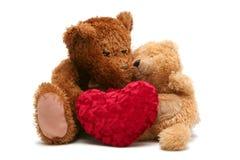 Tarjeta del día de San Valentín dulce fotos de archivo