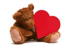 Tarjeta del día de San Valentín dulce Imagen de archivo