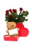 Tarjeta del día de San Valentín dulce Imagenes de archivo