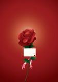 Tarjeta del día de San Valentín feliz Imagen de archivo libre de regalías