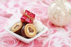Tarjeta del día de San Valentín feliz fotografía de archivo libre de regalías