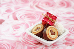 Tarjeta del día de San Valentín feliz fotos de archivo libres de regalías