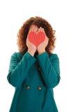 Tarjeta del día de San Valentín feliz \ 'día de s Imagen de archivo libre de regalías