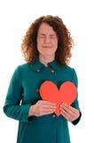 Tarjeta del día de San Valentín feliz \ 'día de s Fotos de archivo