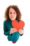 Tarjeta del día de San Valentín feliz \ 'día de s Fotografía de archivo