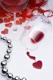 Tarjeta del día de San Valentín feliz sexual de la tarjeta de felicitación del arte fotografía de archivo