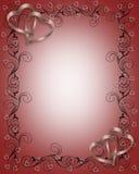 Tarjeta del día de San Valentín, invitación Wedding Imagenes de archivo
